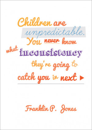 ... Quotation Poster: Franklin P. Jones | Free EYFS & KS1 Resources