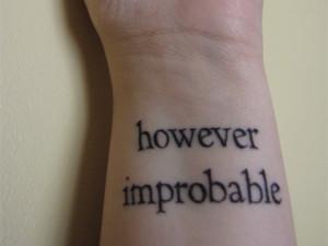 Robert Frost Love Tattoo