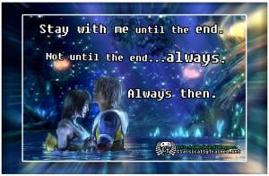 final fantasy x quote tidus yuna