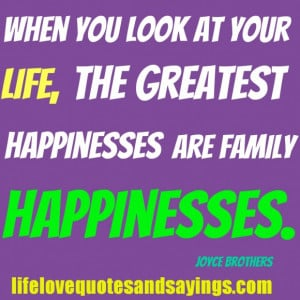 Sweet Quotes About Family Love: Quotes About Family Love And ...