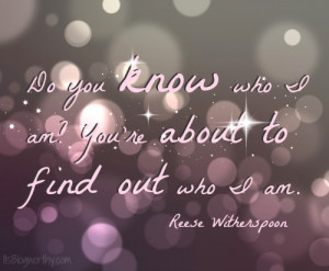 reese witherspoon arrested quote do you know who i am