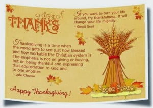 Give Thanks Thanksgiving Quotes Famous quote for thanksgiving