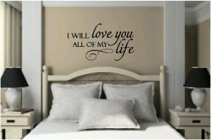 Vinyl Wall Quotes | Bedroom Quotes & Love Quotes