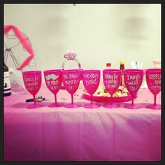 party ideas: create fun stuff for the bachelorette party, be creative ...