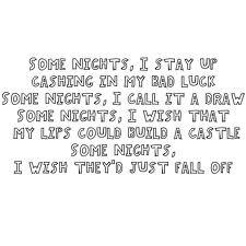 ... # nate ruess # fun lyrics # some nights lyrics # nate ruess quote