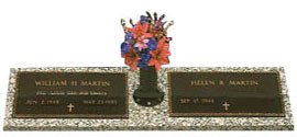 Veterans Bronze Grave Markers