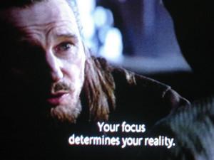 Jedi philosophy.