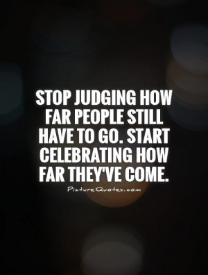 Quotes About Judging People