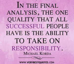 take responsibility quotes