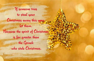 ... the top 10 Christmas quotes 2014 for Christmas cards to loved ones