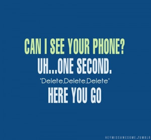 Funny photos funny cell phone delete