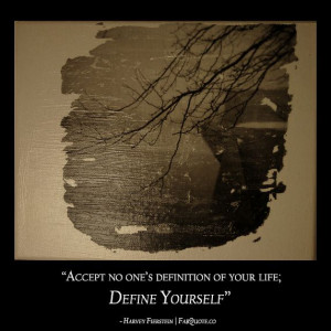 "Harvey Fierstein – ""Define Yourself"""
