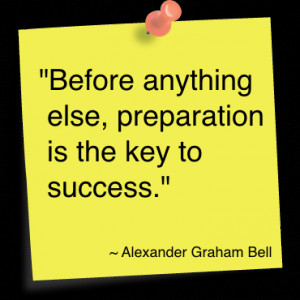 Quotes About Being Prepared for Success
