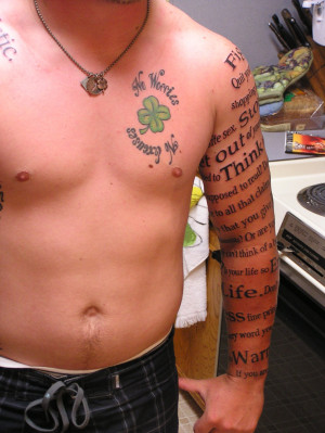 Word Tattoos Designs, Ideas and Meaning