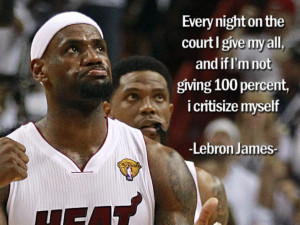 Lebron James Quotes message for baseball player. Basketball Quotes ...