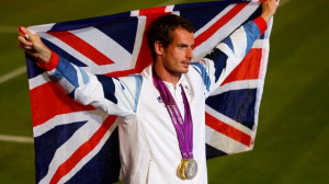 Andy Murray wins gold. Andy Murray won the World Breakthrough of the ...