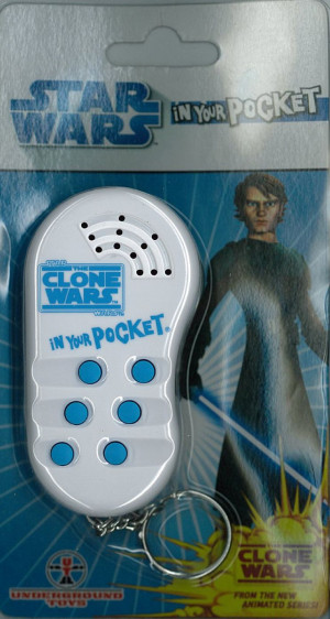 Star Wars - Clone Wars In Your Pocket Talking Keychain