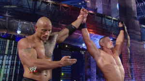 ... No Disqualification Match - The Rock (c) vs. Stone Cold Steve Austin
