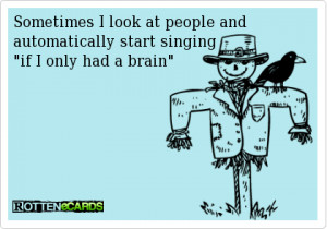 ... Tags: Funny quotes - Sometimes I look at people and... // April, 2013
