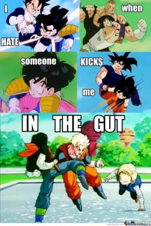 Gohan Hates The Kick