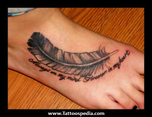 feather tattoos tattoos quotes quotes feather quote tattoo moulinrouge ...