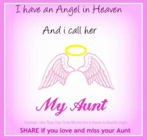 miss my aunt so much.. :/