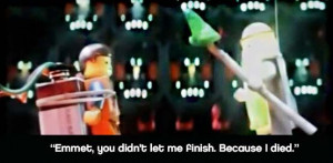 ! Vitruvius ghost on string - The LEGO Movie Quote: Lego Movie Quotes ...