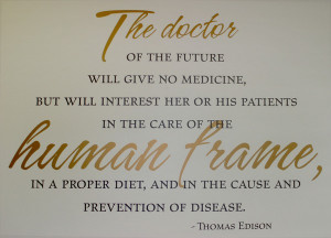 Thomas Edison Doctor Future