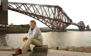 Home: Iain Banks in North Queensferry Photo: Chris Watt
