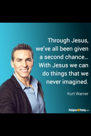 Kurt Warner is a modern day example of how to walk in faith when man ...