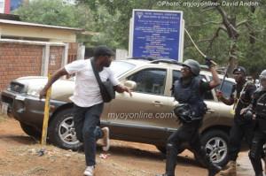 Photos: Violence mars Let My Vote Count demo