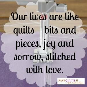 Quilts bring us