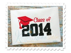 Class of 2014 Applique