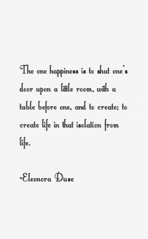 Eleonora Duse Quotes & Sayings