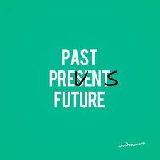 getting past the past . . .