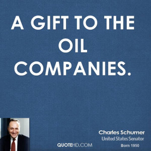 gift to the oil companies.