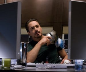 Related Pictures tony stark controls his iron man suit using a heads ...
