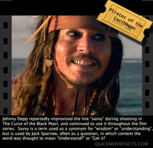 Johnny Depp – Savvy