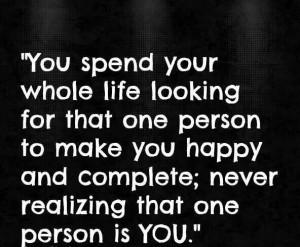 Make yourself happy!