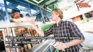 Sam Walton Focus Quote Mobile Cuisine