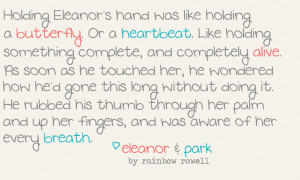 Eleanor & Park Quote