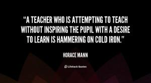 Horace Mann Quotes Education