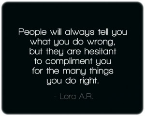People will always tell you quote