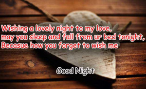 good night sms with love, good night sms new