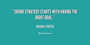 Strategy Michael Porter Quotes