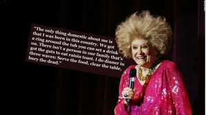 Queen of the one-liners: Late comic Phyllis Diller's funniest gags