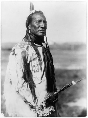Blackfoot Indian Chief Big Spring