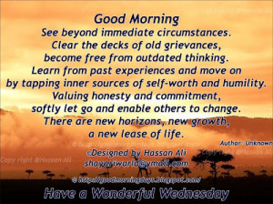 Good Morning Friends Have A Wonderful Wednesday