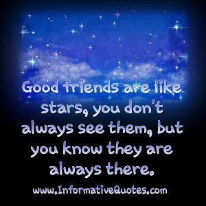 Friends Are Like Stars Free