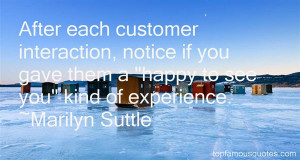 Top Quotes About Customer Interaction